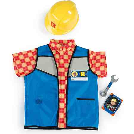 Smoby Kinderkostüm, »Bob der Baumeister Handwerkeroutfit«