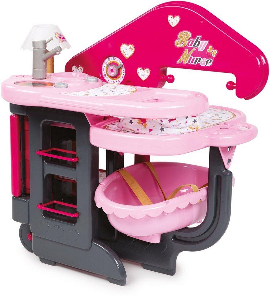 Smoby Puppenpflegecenter, »Baby Nurse Puppenpflegecenter« in pink