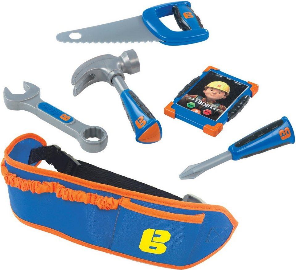 Smoby Spielwerkzeuggürtel, »Bob der Baumeister Werkzeuggürtel« in blau/orange