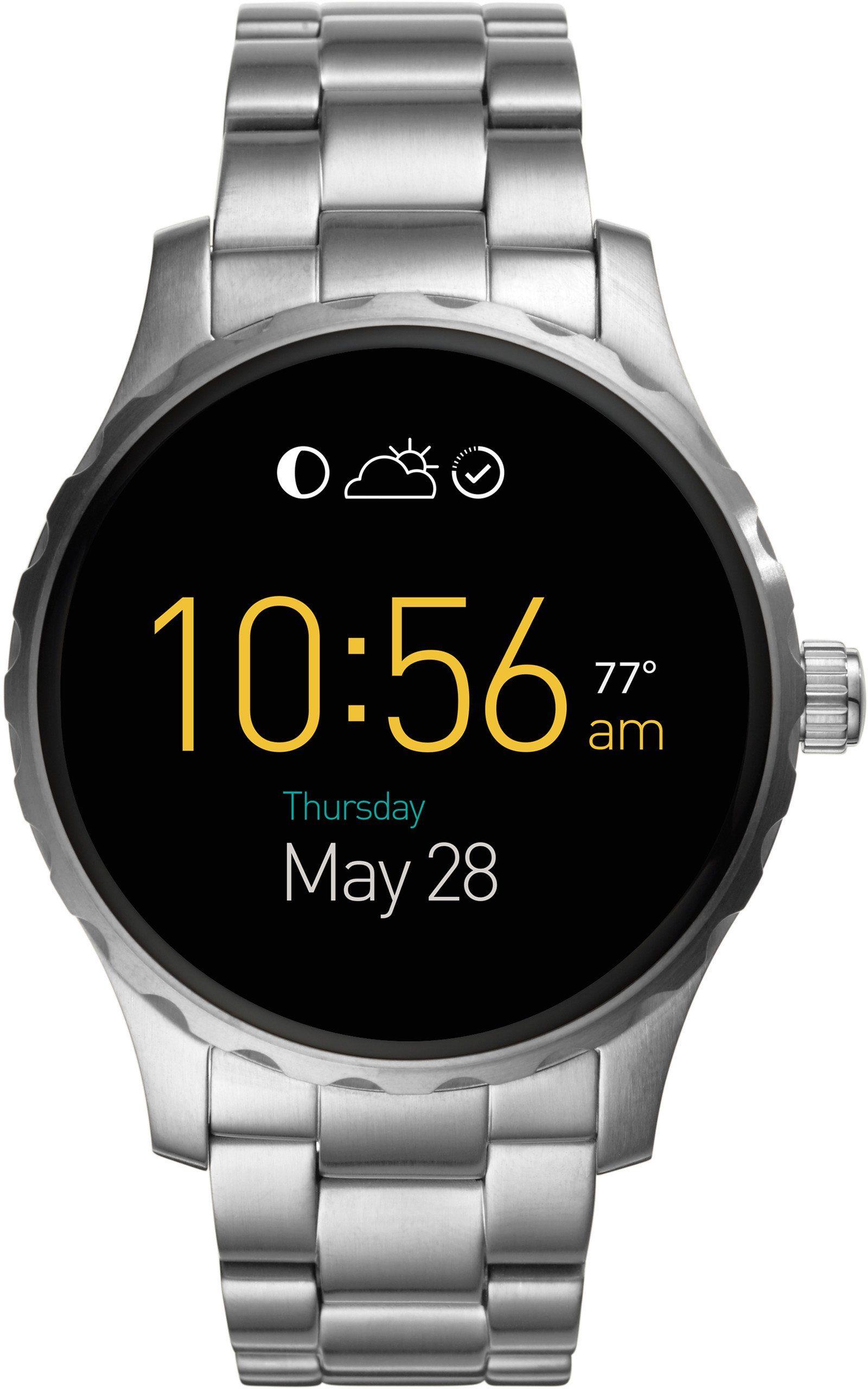 FOSSIL Q Q MARSHAL, FTW2109 Smartwatch (Android Wear, mit individuell einstellbarem Zifferblatt)