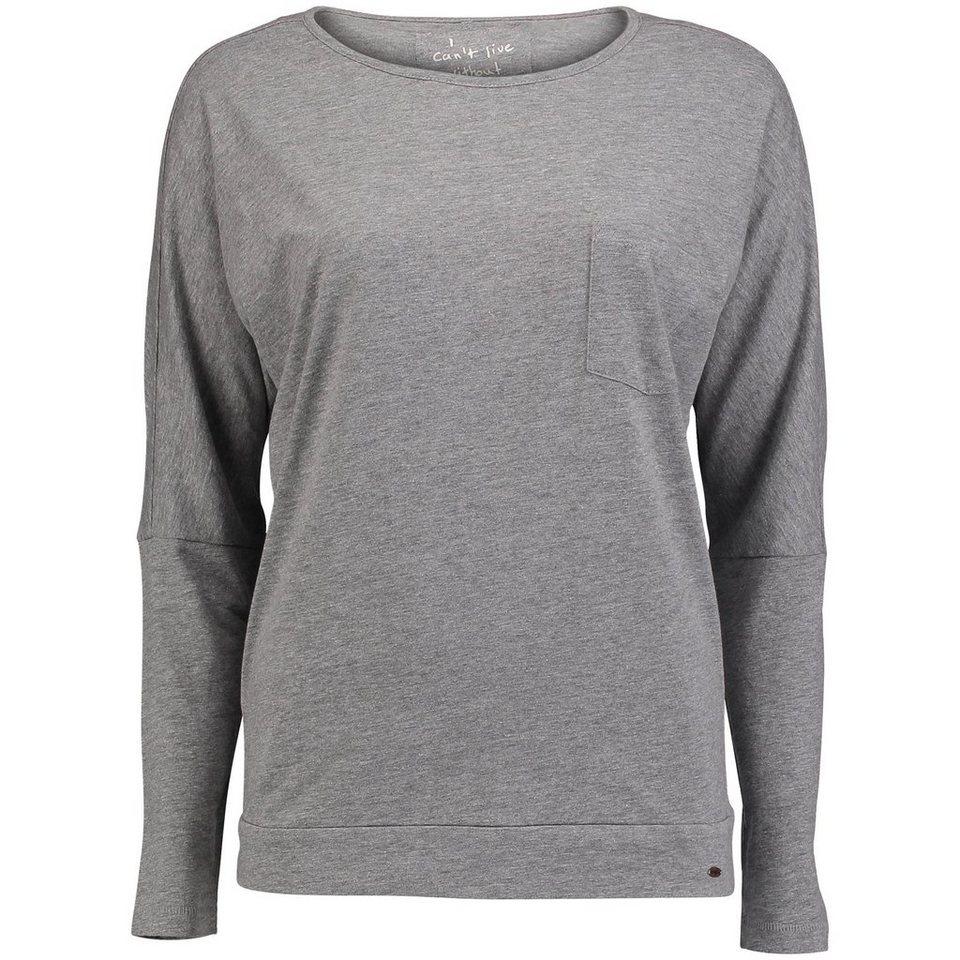 O'Neill T-Shirt langärmlig »Jack's Base« in Silbergrau