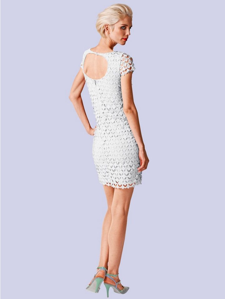 Alba Moda Kleid in weiß