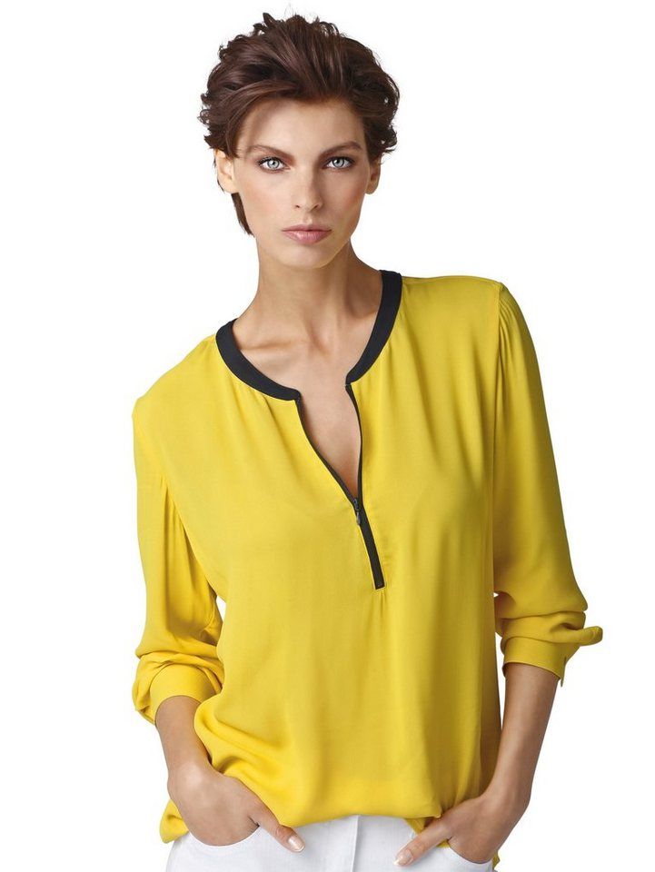 Alba Moda Bluse in gelb