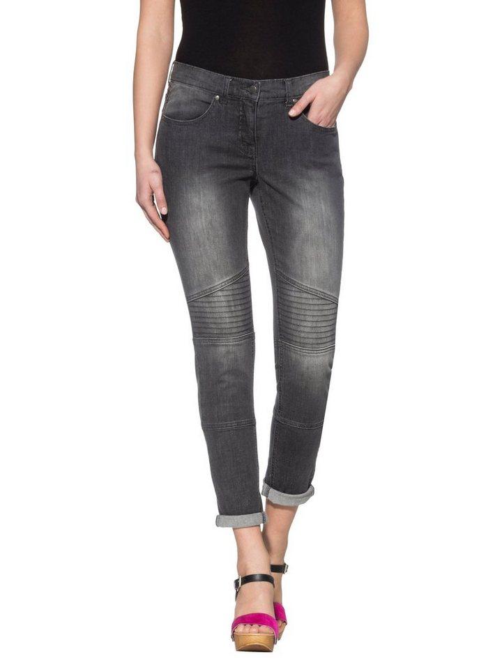 Alba Moda Jeans in grau