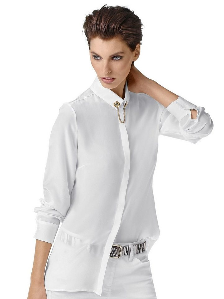 Alba Moda Bluse in weiß