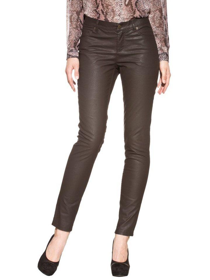 Alba Moda Jeans in dunkelbraun