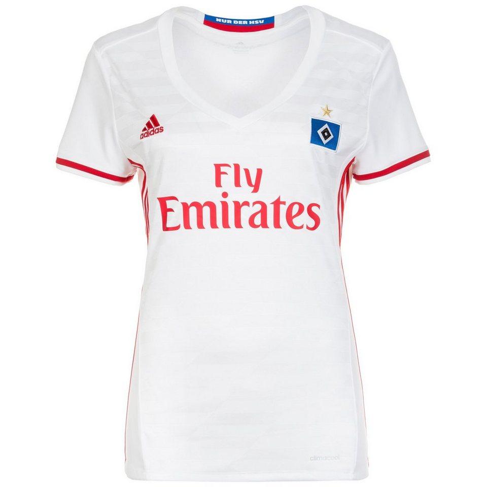 adidas Performance Hamburger SV Trikot Home 2016/2017 Damen in weiß / rot