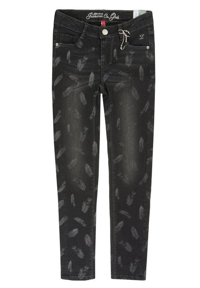 Lemmi Jeggings Jeans Girls SLIM 1 in Schwarz