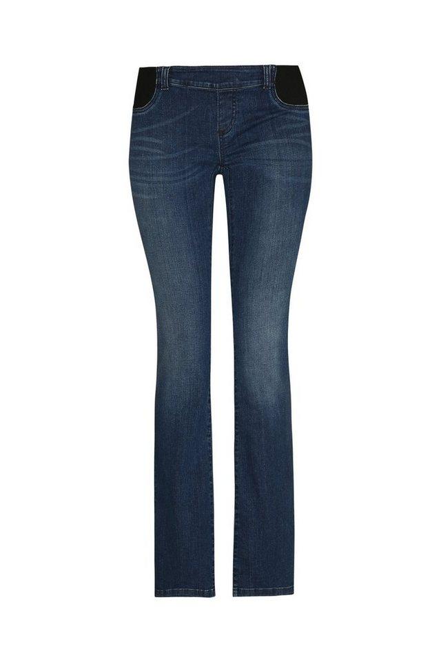 BELLYBUTTON Jeans Alia boot cut, low pocket belly in blue denim