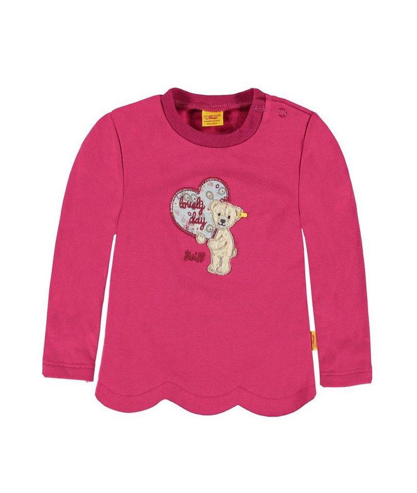 Steiff Collection Sweatshirt langärmlig 1 in Dunkelpink