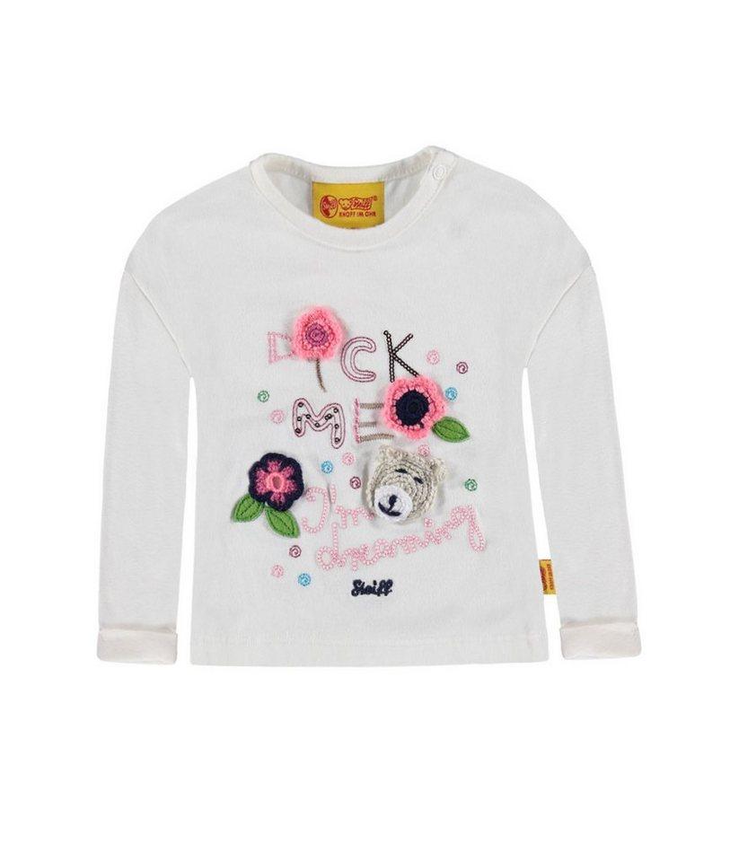 Steiff Collection T-Shirt langärmlig 1 in Weiß