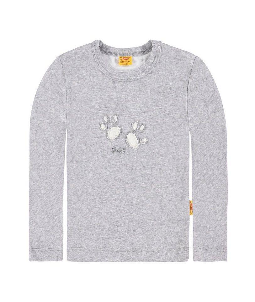 Steiff Collection T-Shirt langärmlig 1 in Hellgrau