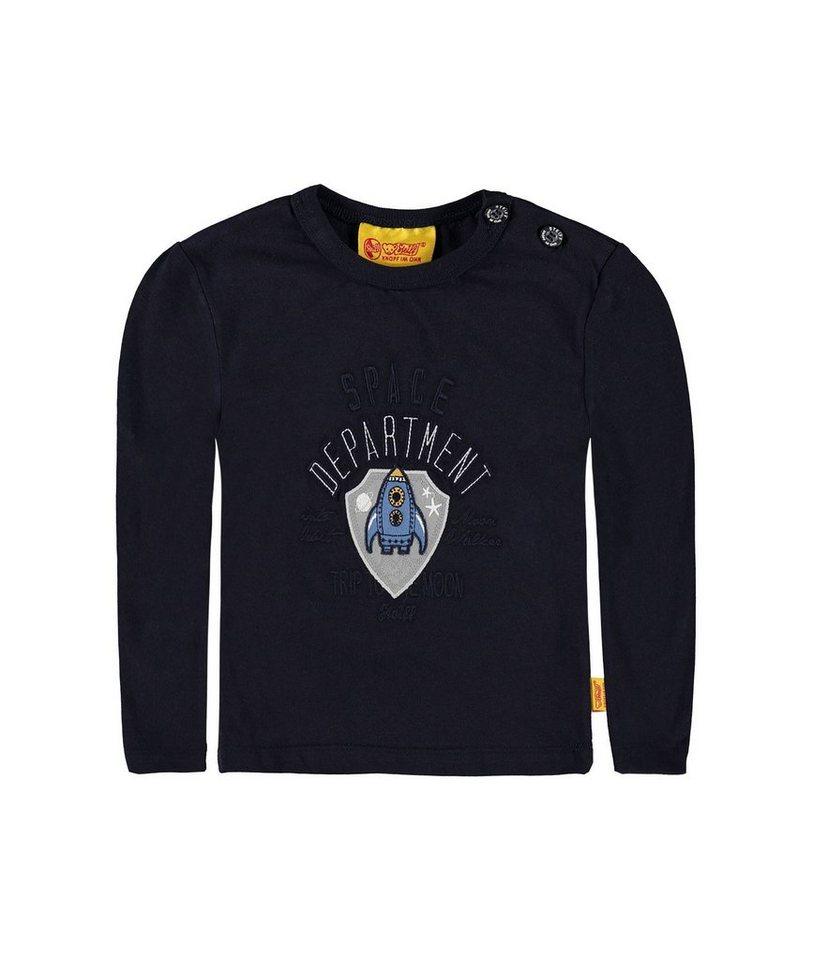 Steiff Collection T-Shirt langärmlig 1 in Dunkelblau