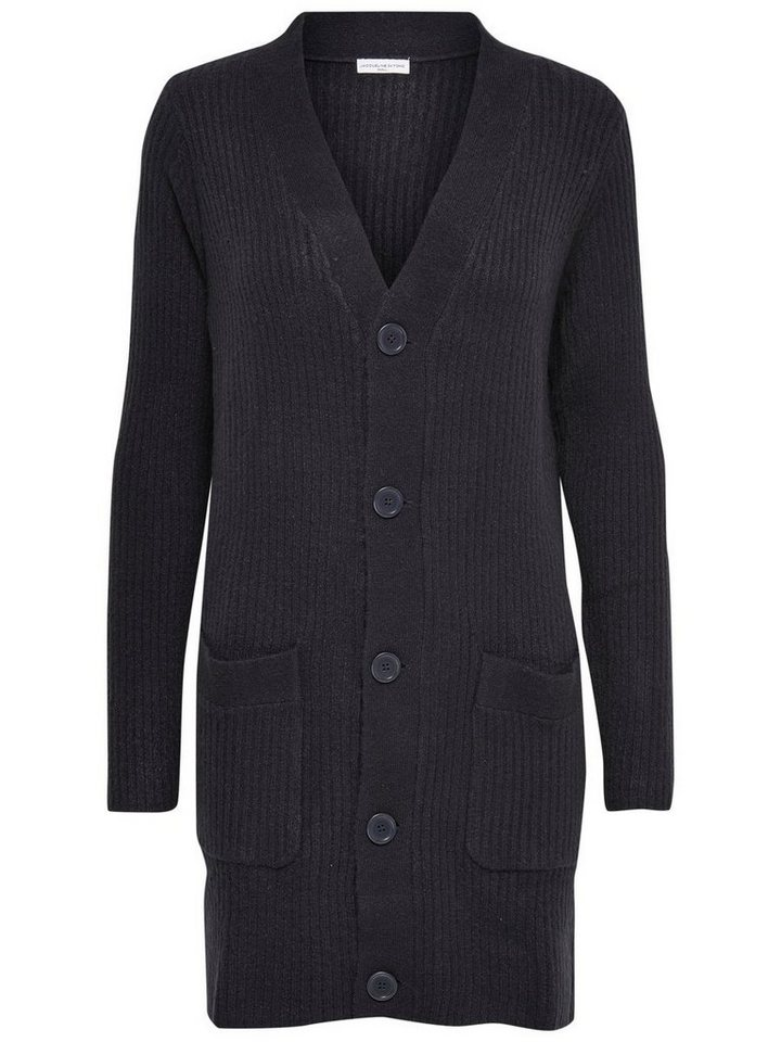 Only Detaillierter Strick-Cardigan in Sky Captain