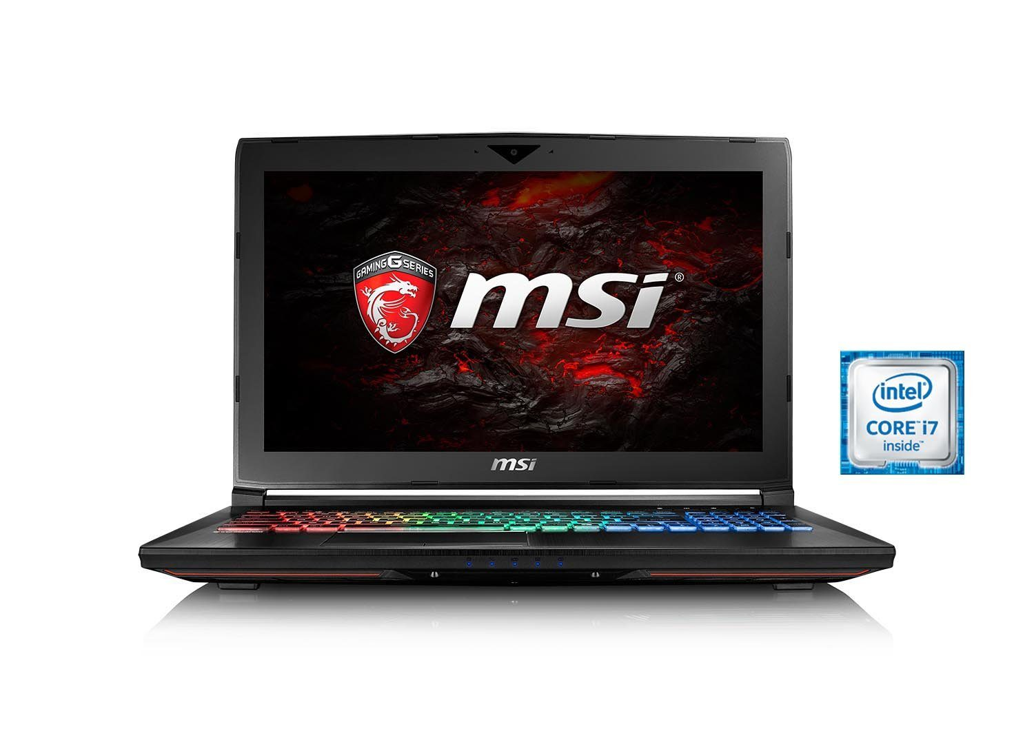 "MSI 15,6"", i7-6700HQ, 16GB RAM, SSD + HDD, GeForce® GTX 1060 »GT62VR-6RDAC16H11 (0016L2-SKU34)«"