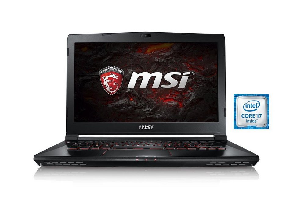 "MSI 14"", i7-6700HQ, 16GB, SSD + HDD, GeForce® GTX 1060 »GS43VR-6REAC16H21 (0014A3-SKU31)«"