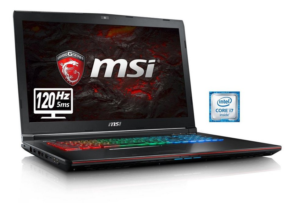 "MSI 17,3"", Intel® i7-6700HQ, 16GB, SSD + HDD, GeForce® GTX 1060 »GE72VR-6RFAC16H21 (00179B-SKU61)«"