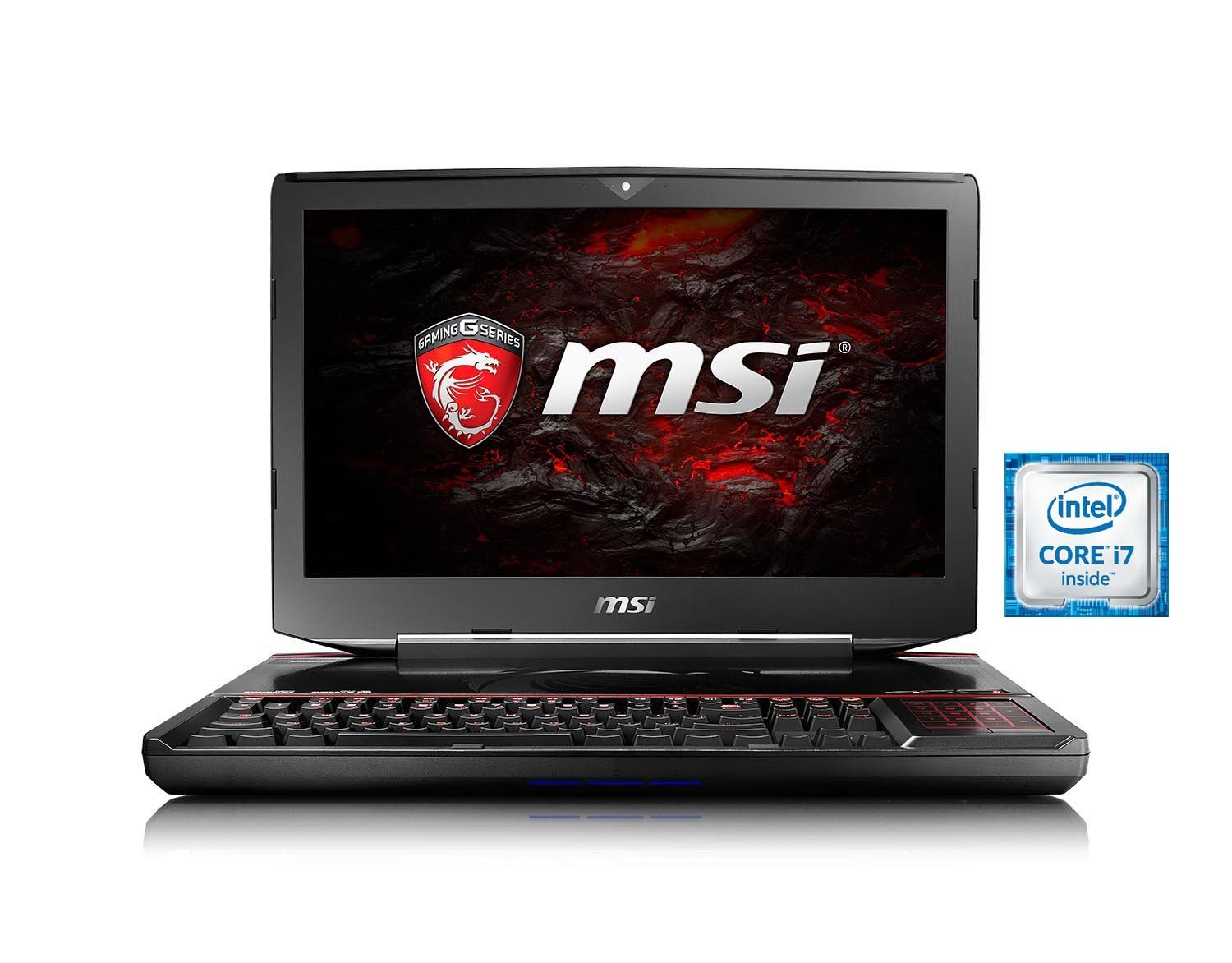 "MSI 18,4"", i7-6820HQ, 32GB, SSD + HDD, 2x GeForce® GTX 1070 »GT83VR-6RE32SR451(001815-SKU2)«"