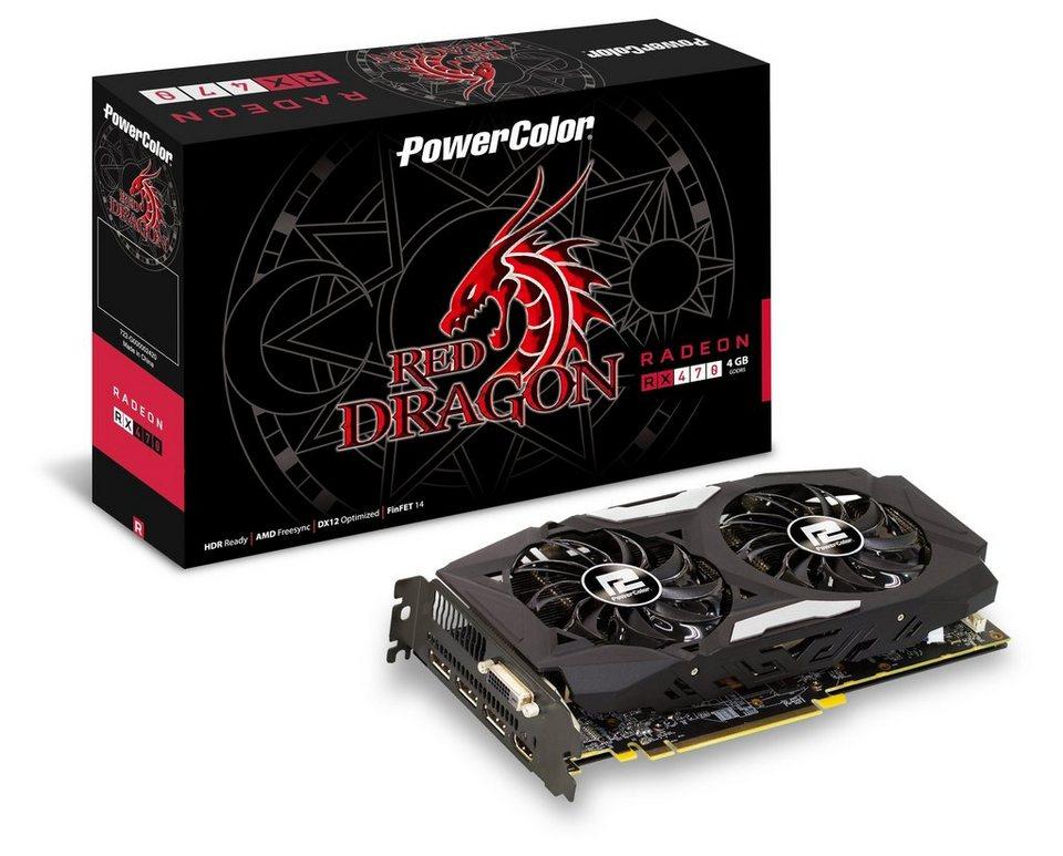 TUL Grafikkarte AMD Radeon™ RX 470 4GB GDDR5