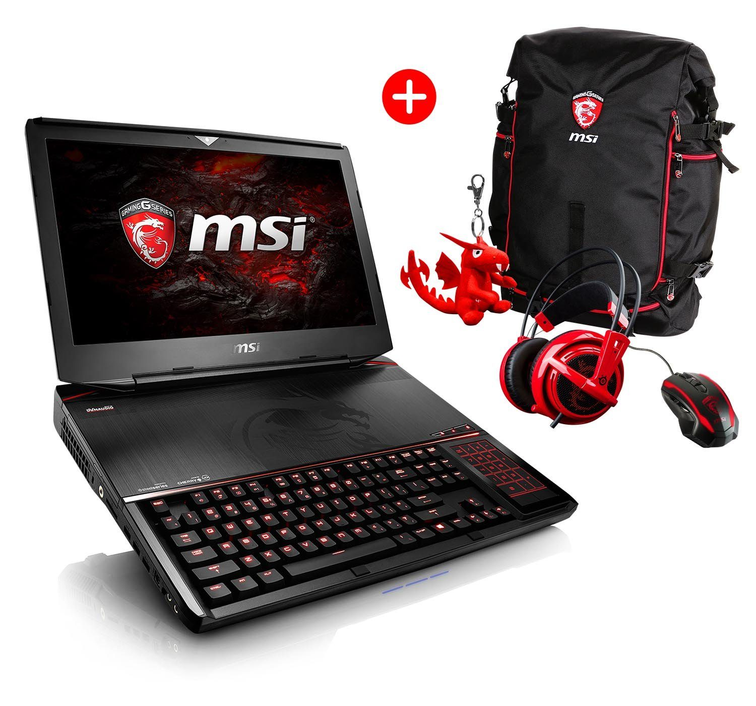 "MSI 18,4"", i7-6920HQ, 64GB, SSD + HDD, 2x GeForce® GTX 1080 »GT83VR-6RF64SR451 (001815-SKU1)«"