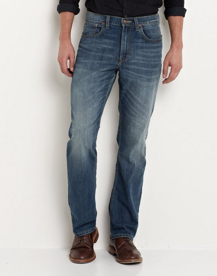 Lee Jeans »BROOKLYN STRAIGHT BLUE STONE USED« in blau