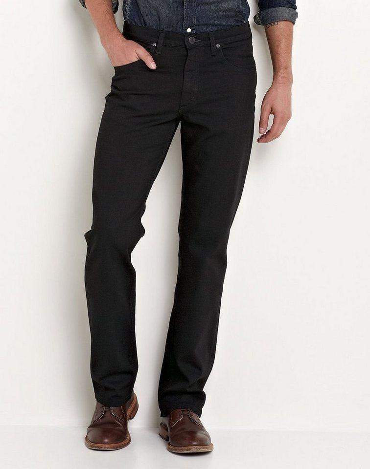Lee Jeans »BROOKLYN STRAIGHT CLEAN BLACK« in schwarz