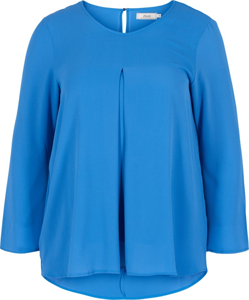 Zizzi Bluse in Palace Blue