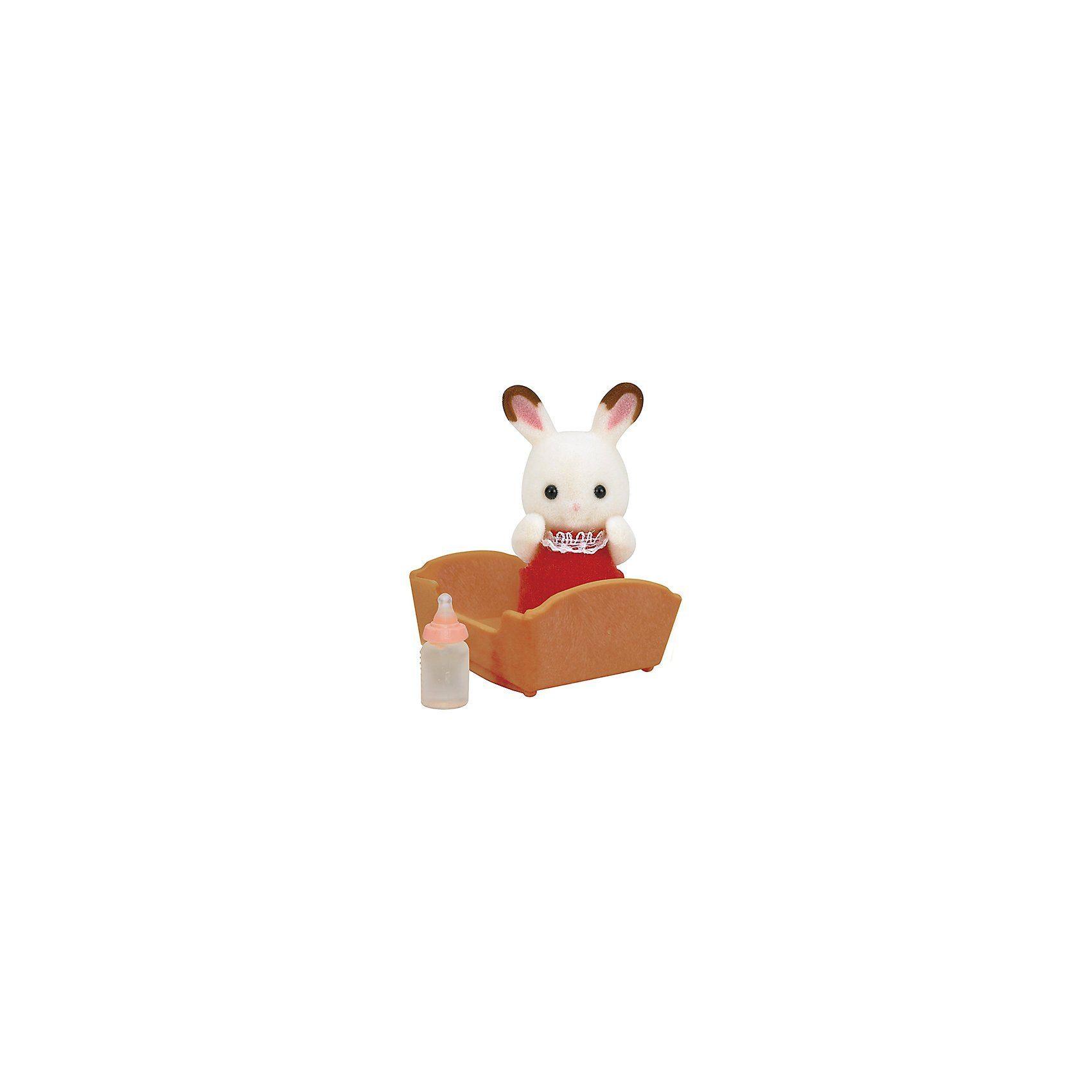 Epoch Traumwiesen Sylvanian Families Schokoladenhasen Baby Puppenhauszubehör