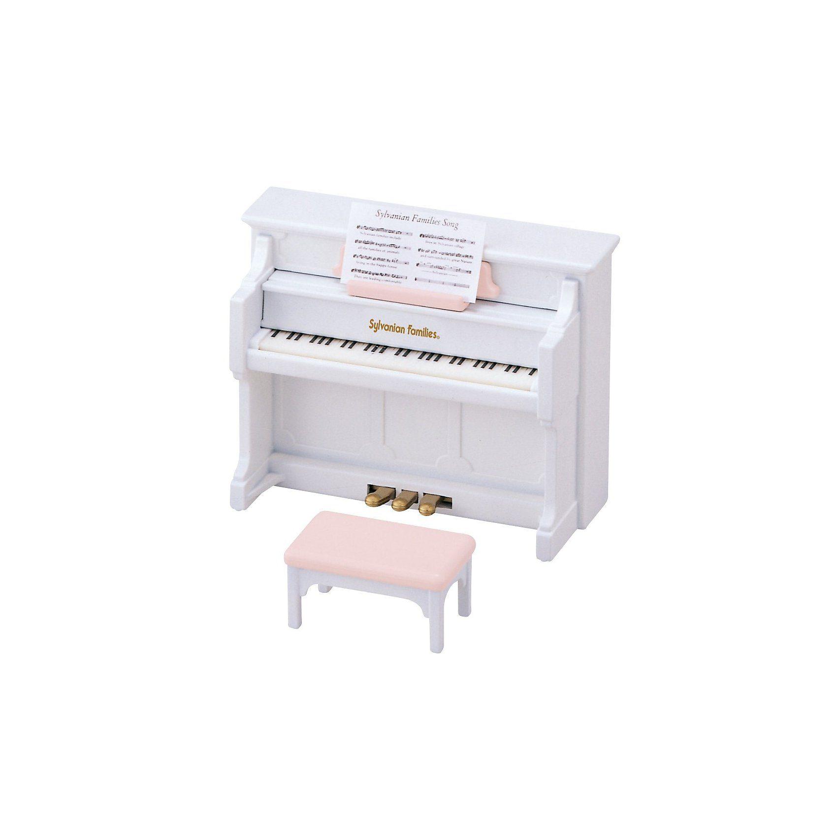 Epoch Traumwiesen Sylvanian Families Klavier Puppenhauszubehör