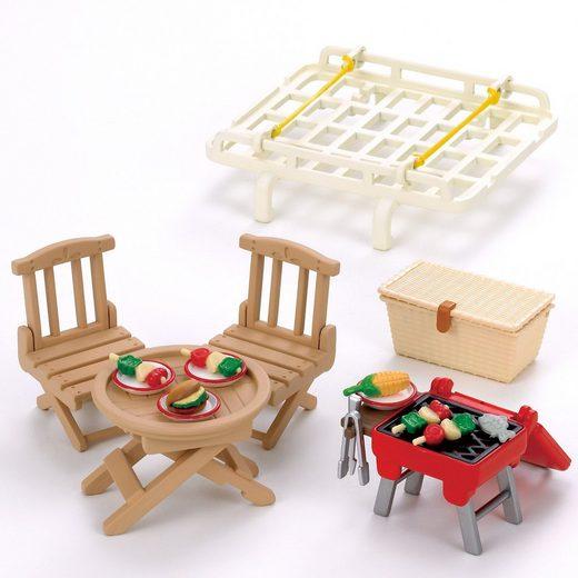 EPOCH Traumwiesen Sylvanian Families Dachgepäckträger mit Picknick-Set