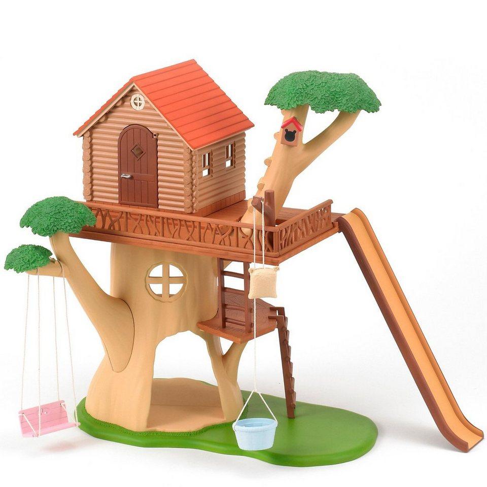Epoch Traumwiesen Sylvanian Baumhaus ohne Figuren