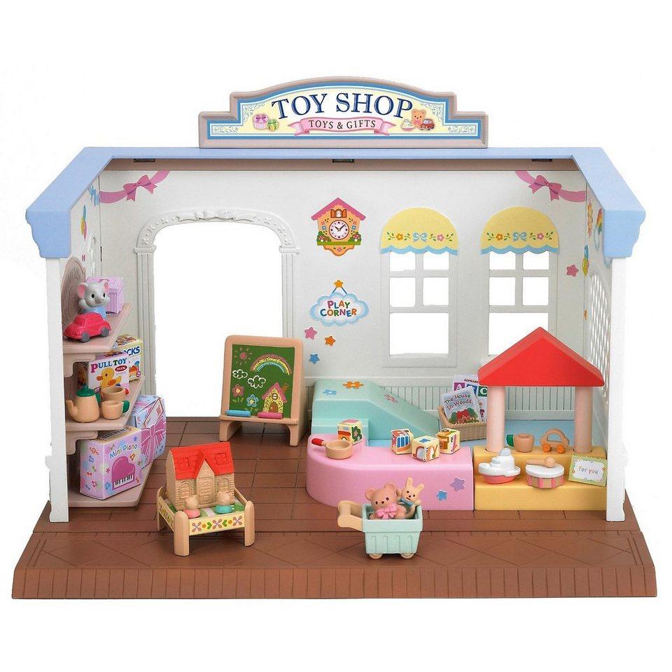 """Epoch Traumwiesen Sylvanian Families Spielzeugladen """"Abenteuerkiste"""""""