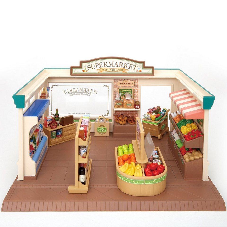 epoch traumwiesen sylvanian families supermarkt bei schleichers puppenhauszu online kaufen otto. Black Bedroom Furniture Sets. Home Design Ideas