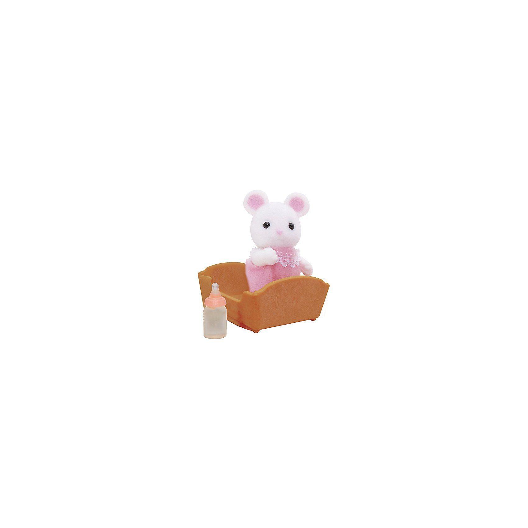 EPOCH Traumwiesen Sylvanian Families Weiße Mäuse Baby