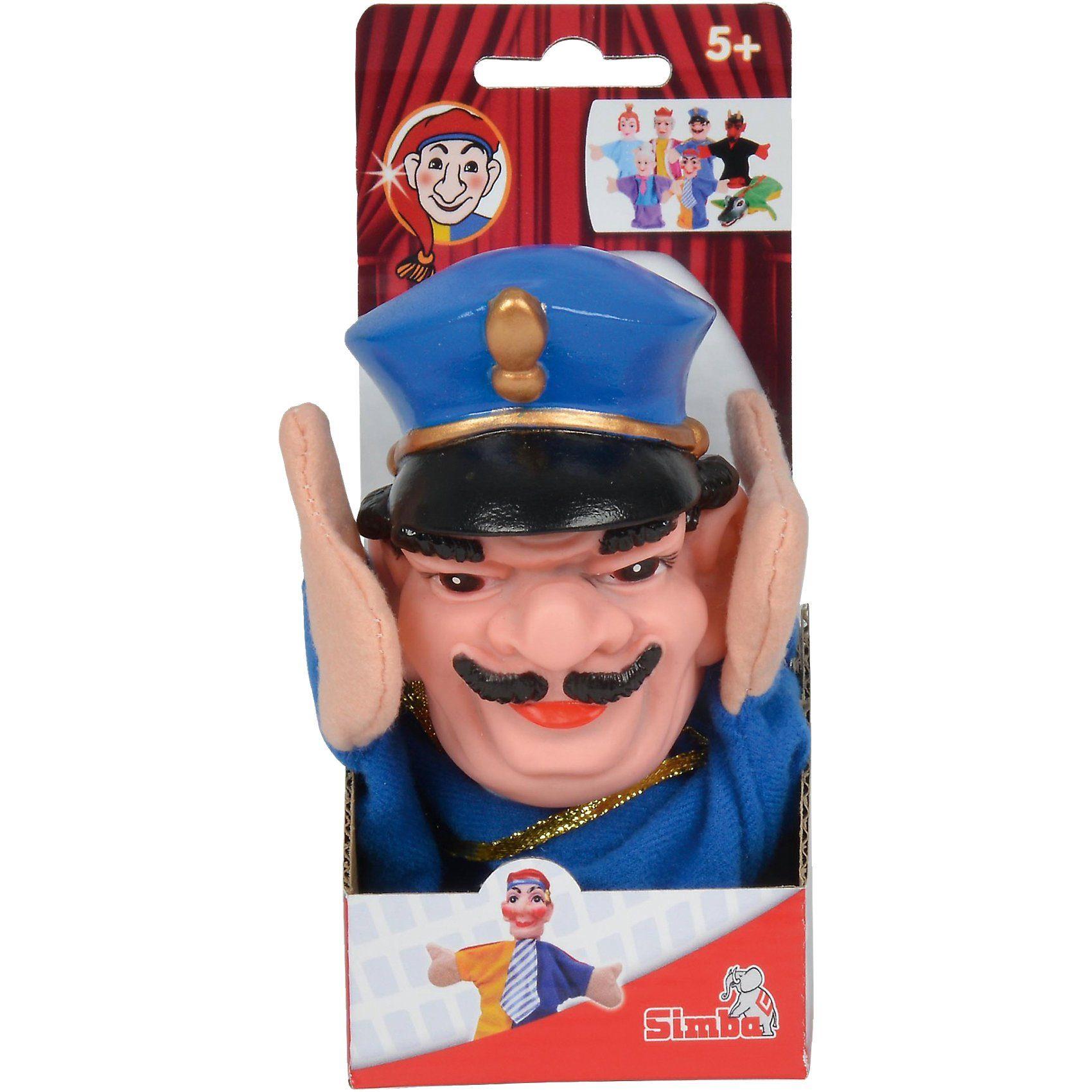 Simba Handspielfiguren - Polizist, 27 cm