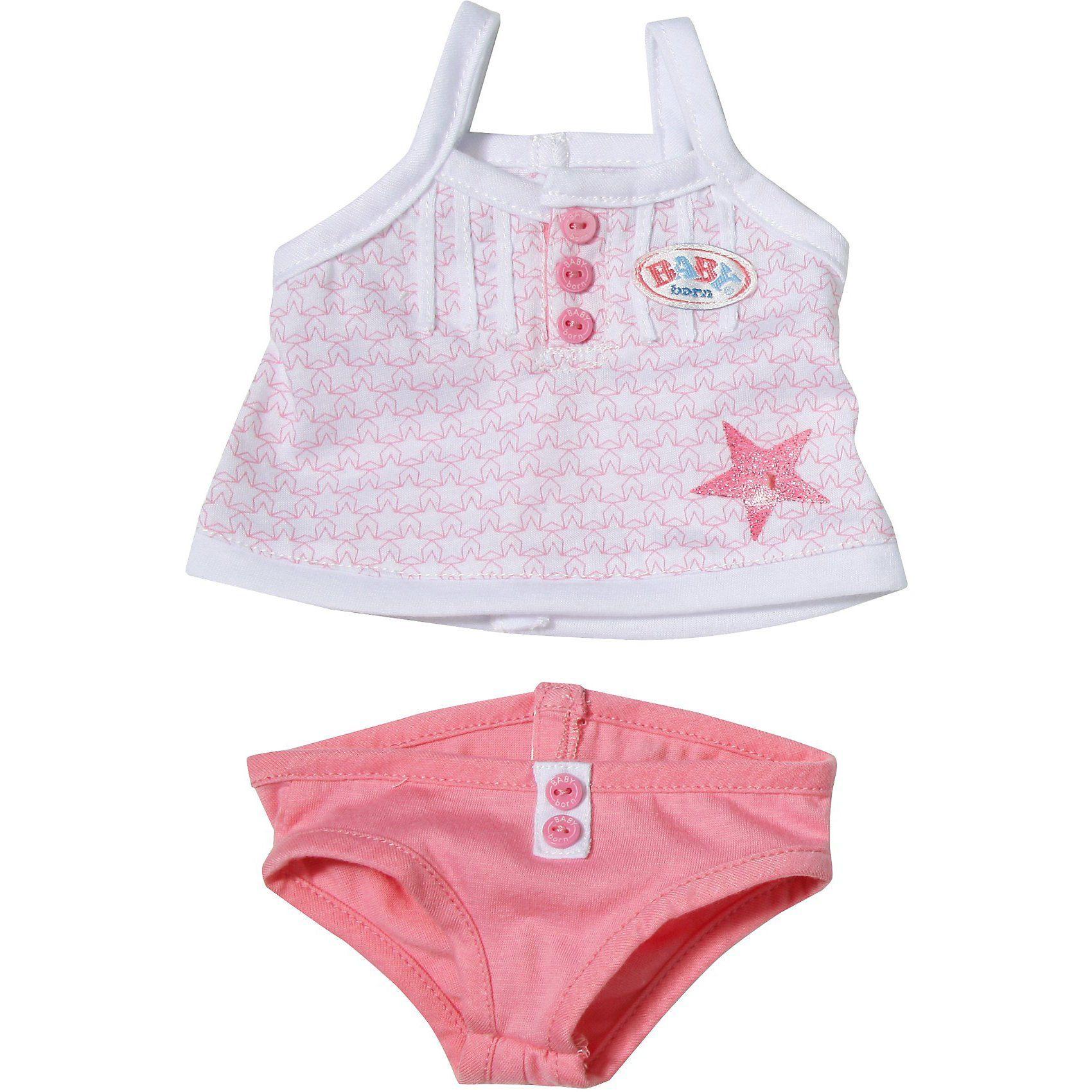 Zapf Creation BABY born® Puppenkleidung Unterwäsche Slip pink