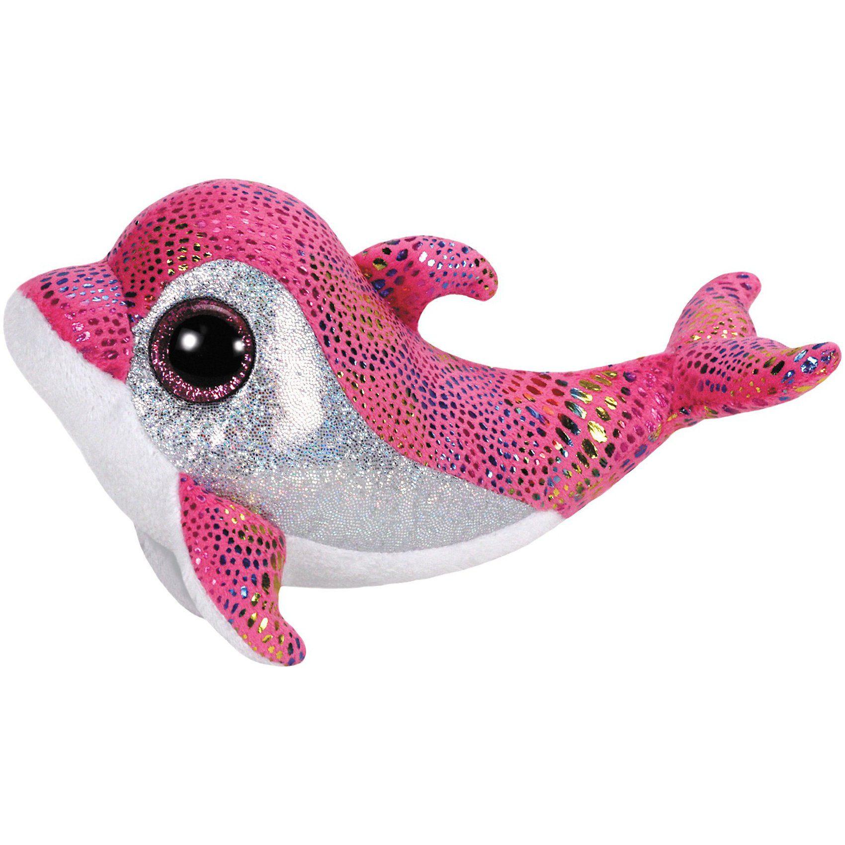 Ty Beanie Boo Delfin Sparkles ,15 cm