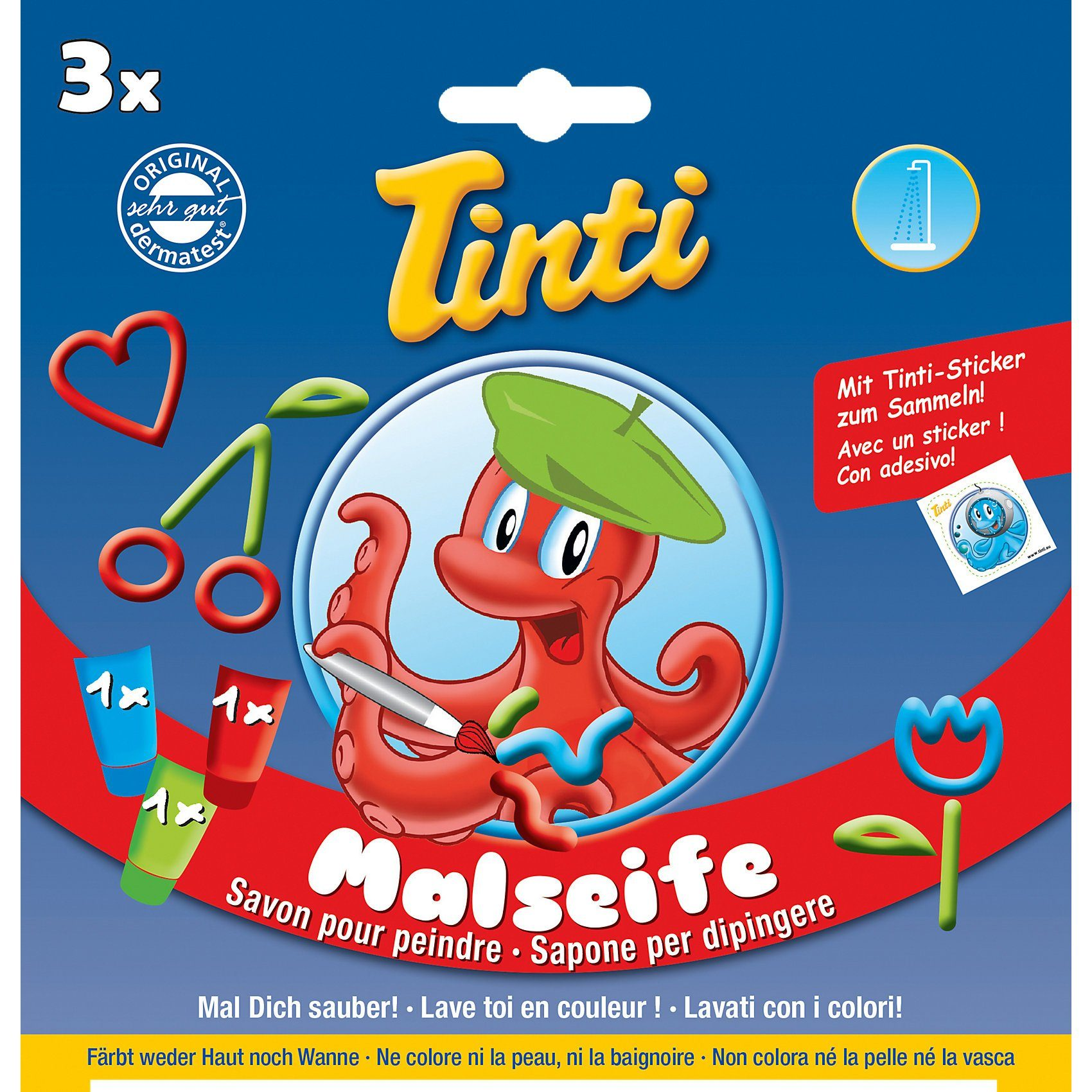 TINTI - Malseife, 3er Pack