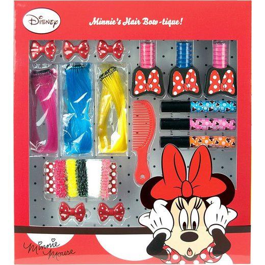 Empeak Minnie Mouse - Haarstyling Set