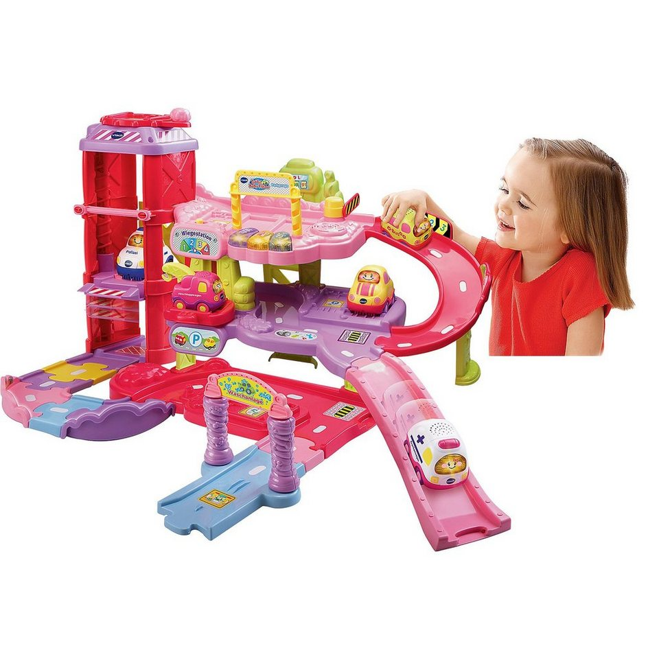 vtech tut tut baby flitzer spielset parkgarage pink online kaufen otto. Black Bedroom Furniture Sets. Home Design Ideas