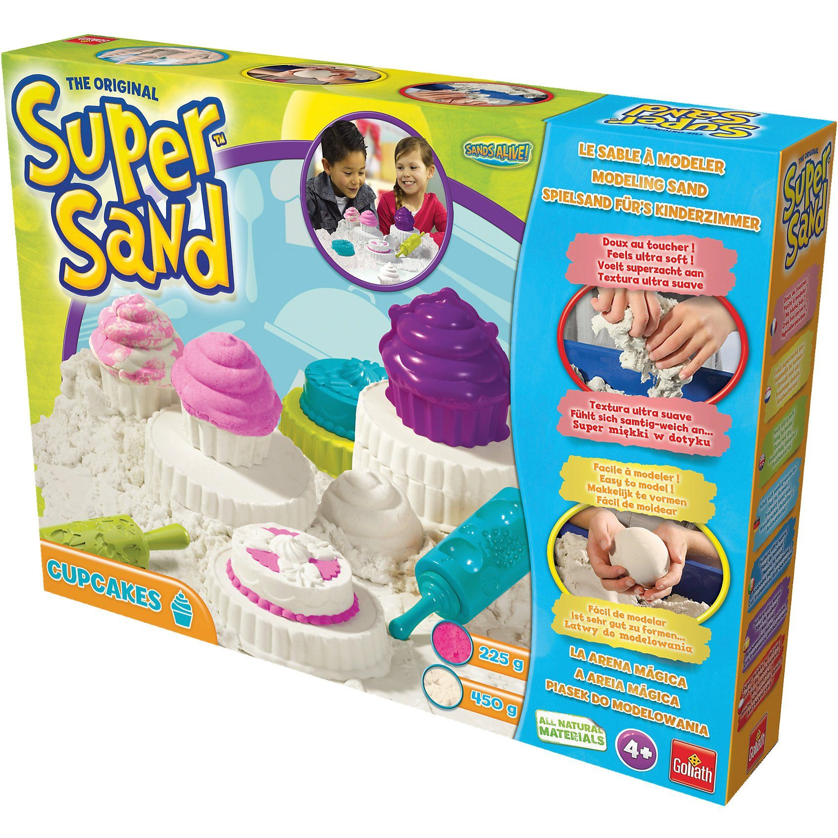 Goliath Super Sand Spielsand - Cupcakes