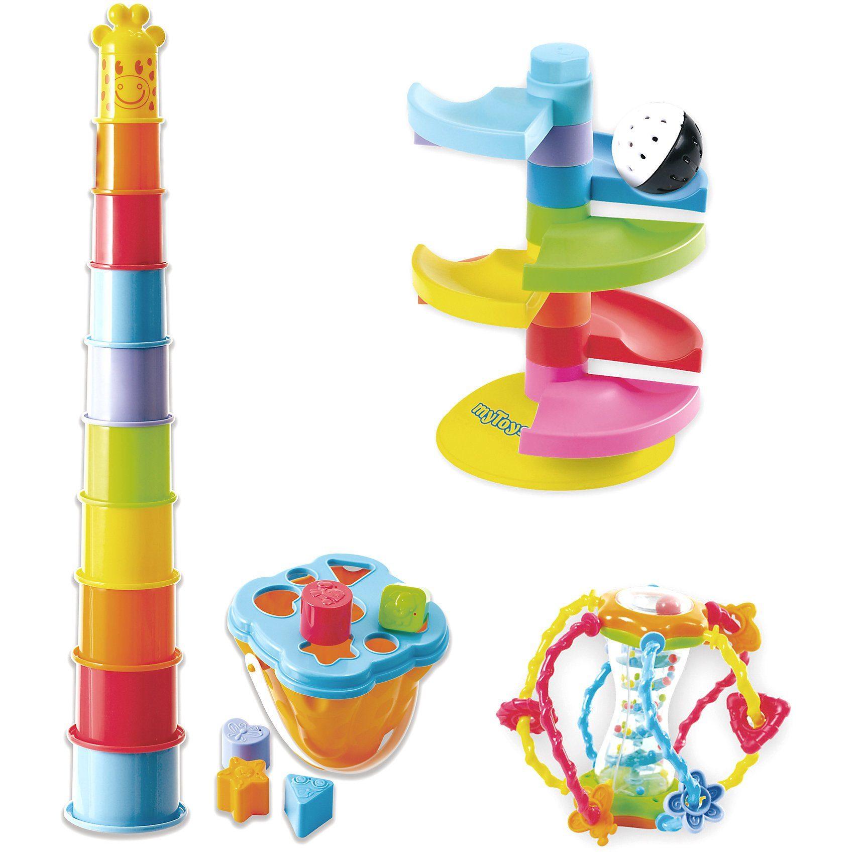 myToys Baby Geschenk-Set, 4-tlg.