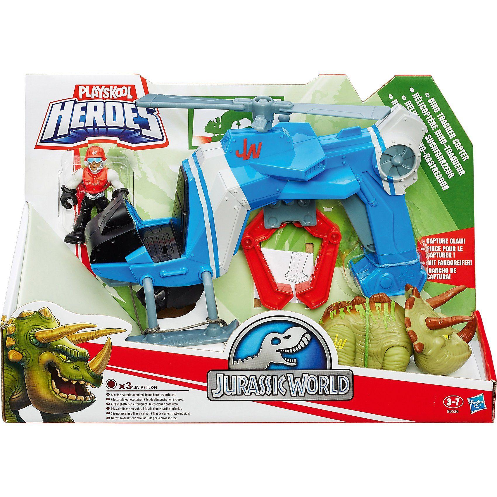 Hasbro Playskool - Jurassic World Suchfahrzeugset, 2-fach sortiert