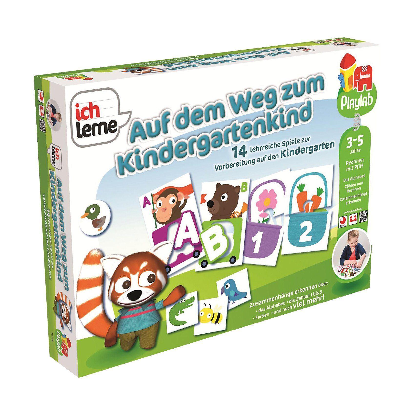 Jumbo Playlab - Ich lerne … Auf dem Weg zum Kindergartenkind
