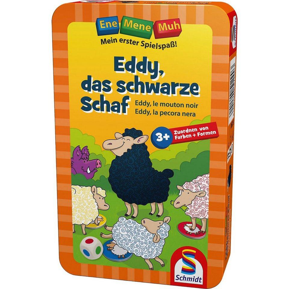 Schmidt Spiele Mitbringspiel Ene Mene Muh, Eddy, das schwarze Schaf online kaufen