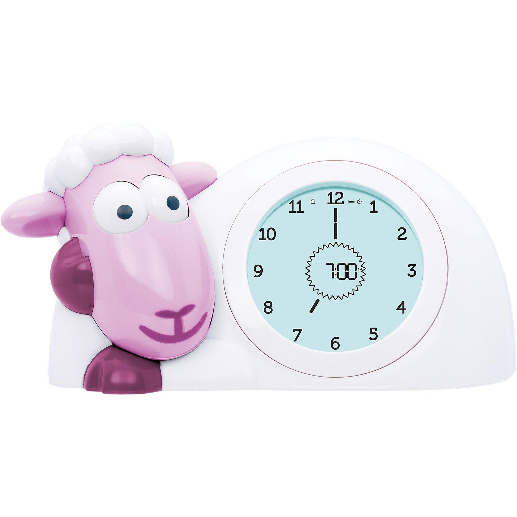 ZaZu Schlaftrainer, Uhr & Nachtlicht SAM, rosa