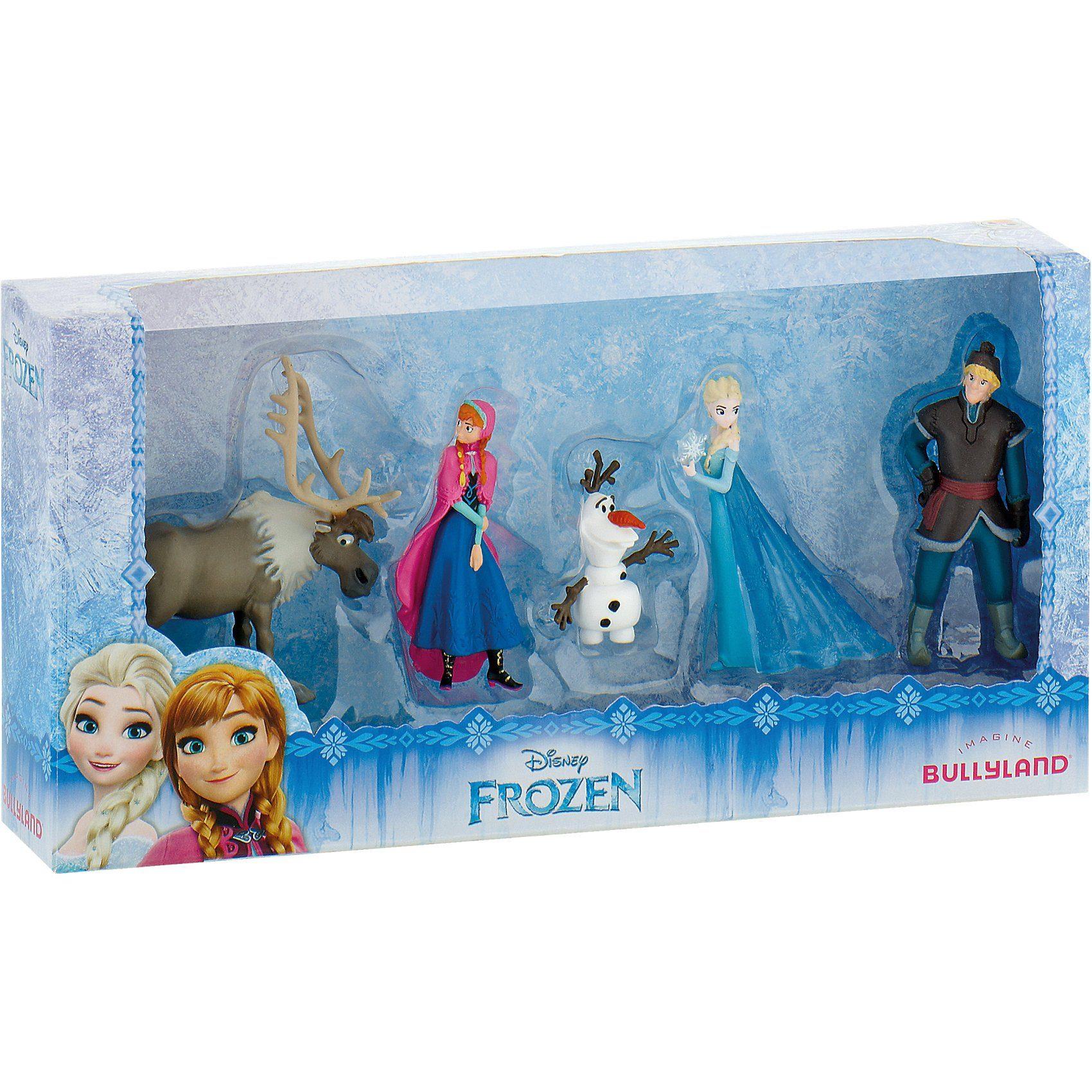 BULLYLAND Comicwelt - Disney Die Eiskönigin Mini 5er Set
