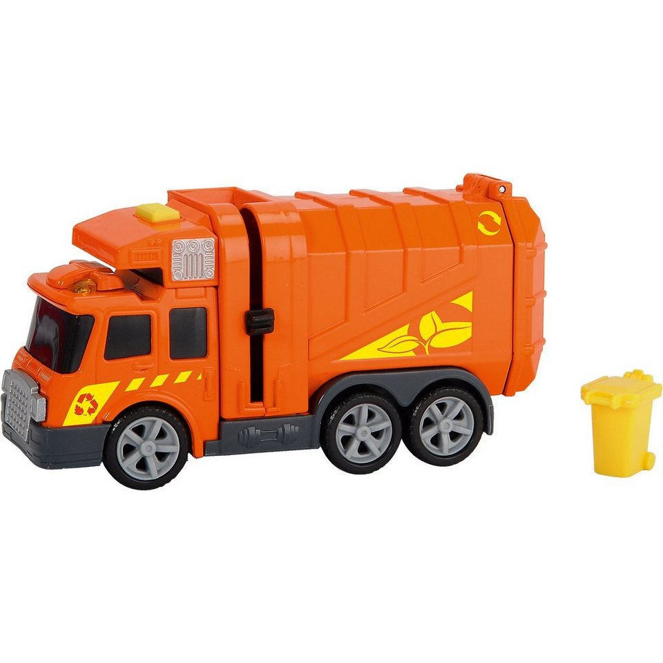 Dickie Toys Straßenreiniger Abfallauto