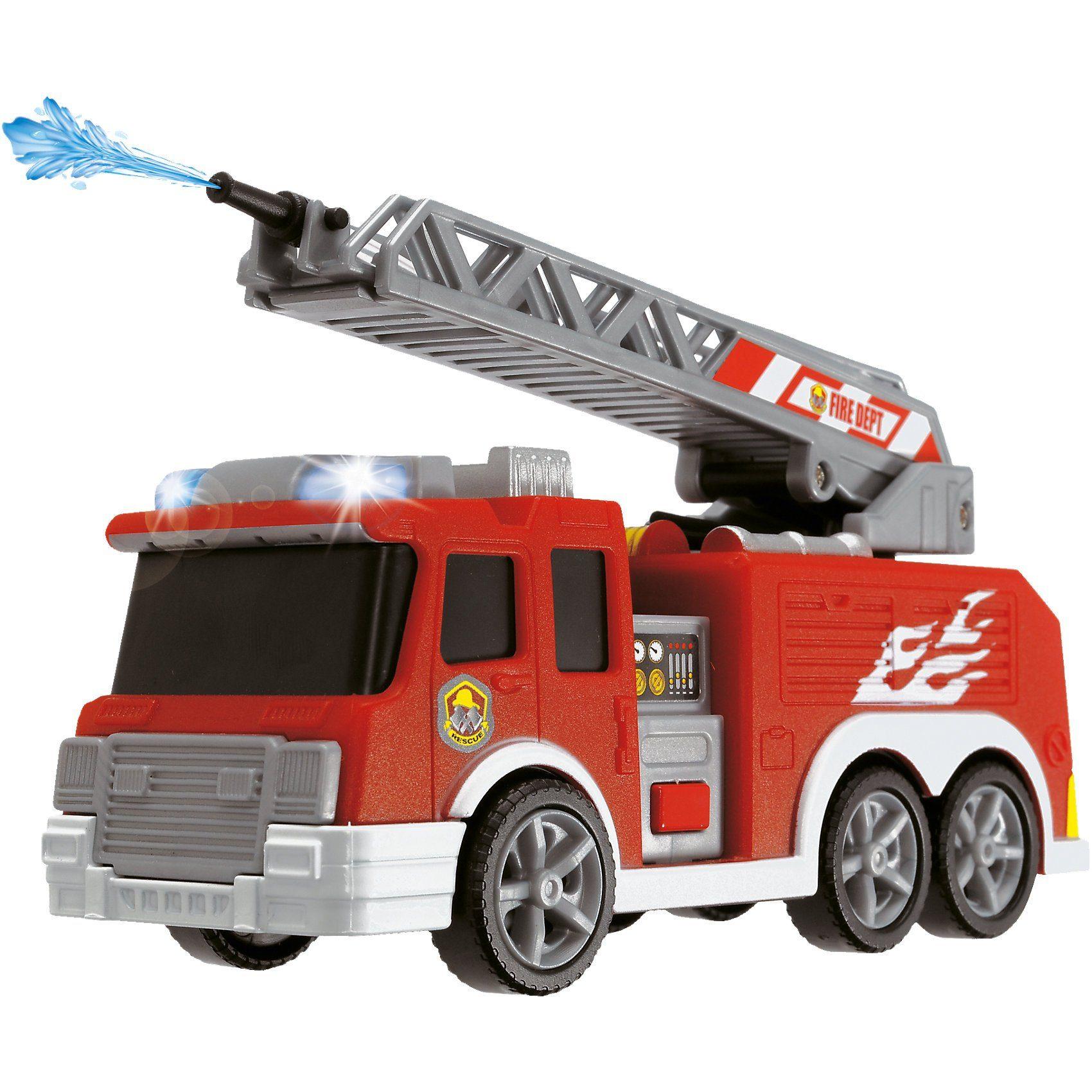 Dickie Toys Feuerwehr mit Wasserspritze