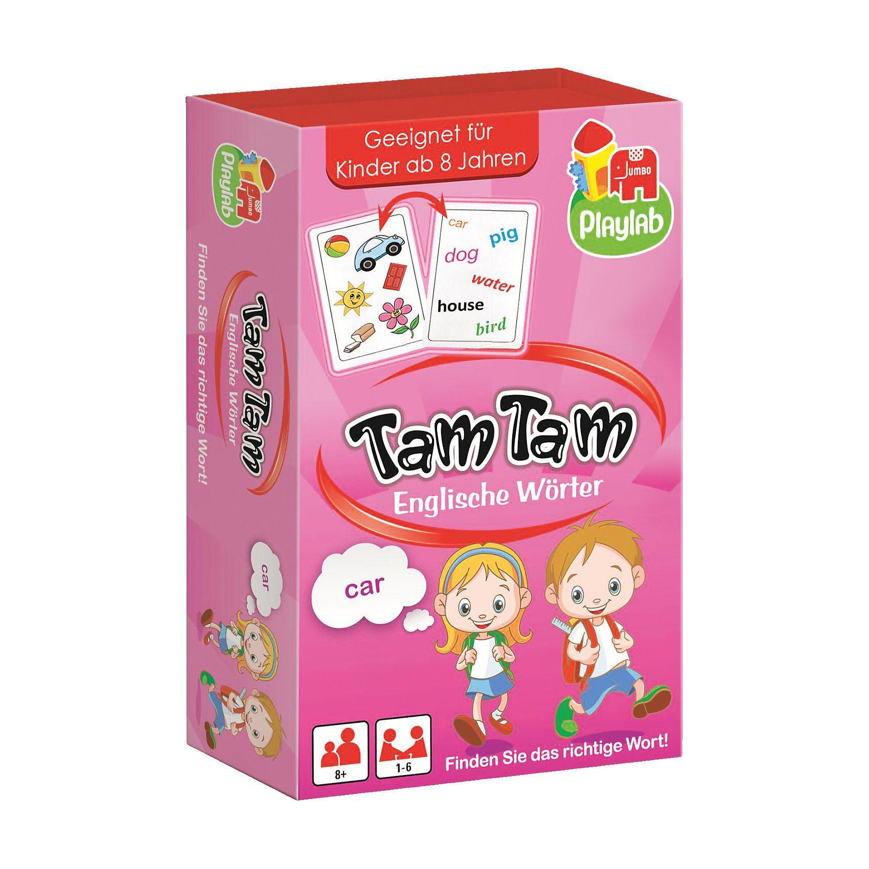 Jumbo Tam Tam - Englische Wörter